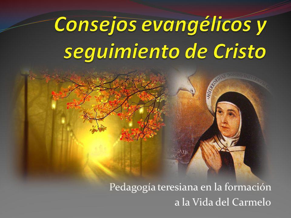 Consejos evangélicos y seguimiento de Cristo