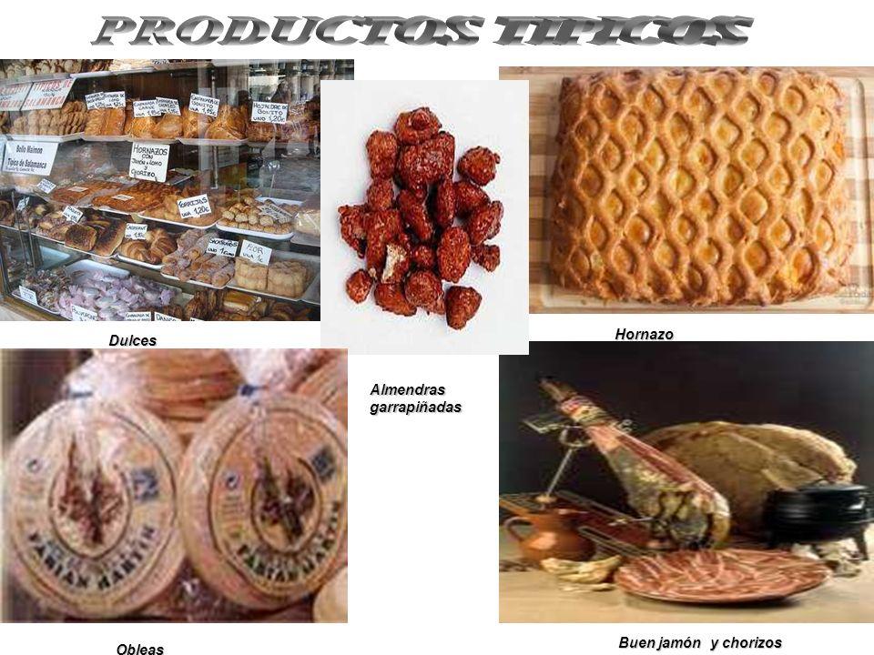 PRODUCTOS TIPICOS Hornazo Dulces Almendras garrapiñadas