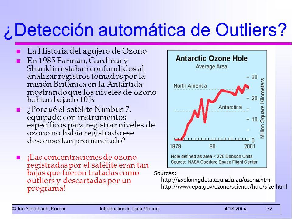 ¿Detección automática de Outliers