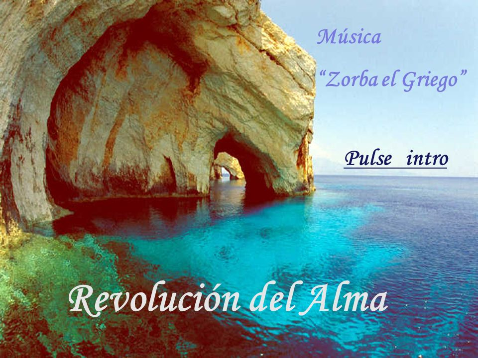 Música Zorba el Griego Pulse intro Revolución del Alma