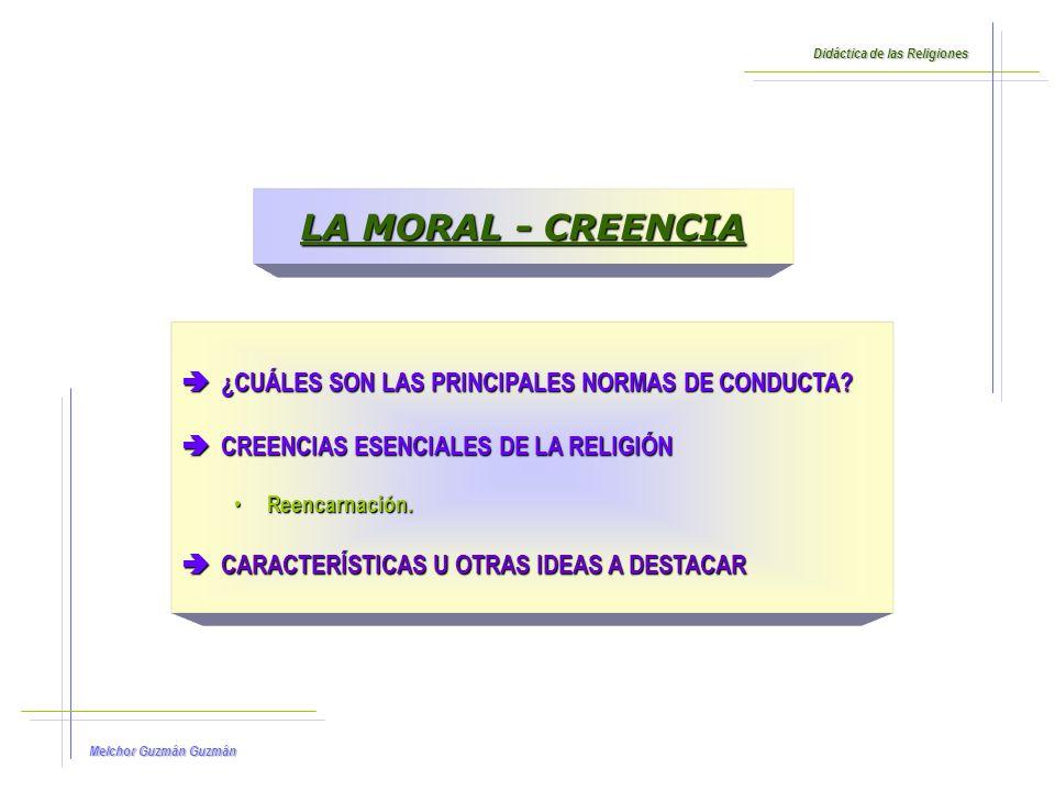 LA MORAL - CREENCIA ¿CUÁLES SON LAS PRINCIPALES NORMAS DE CONDUCTA