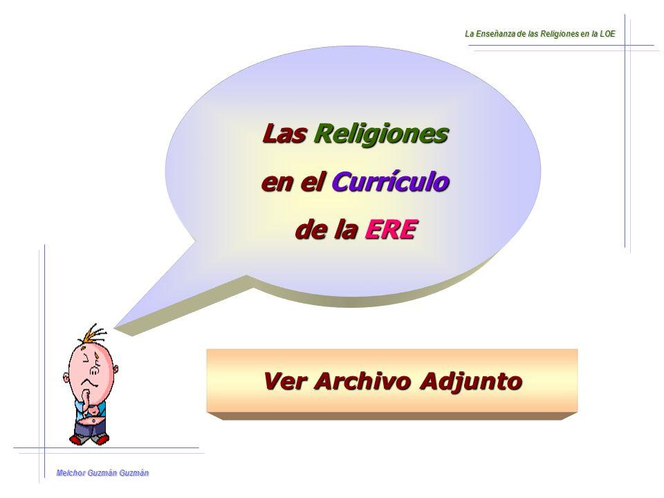 Las Religiones en el Currículo