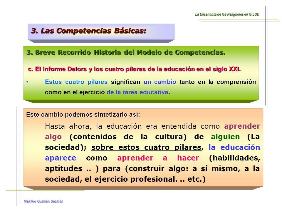3. Las Competencias Básicas: