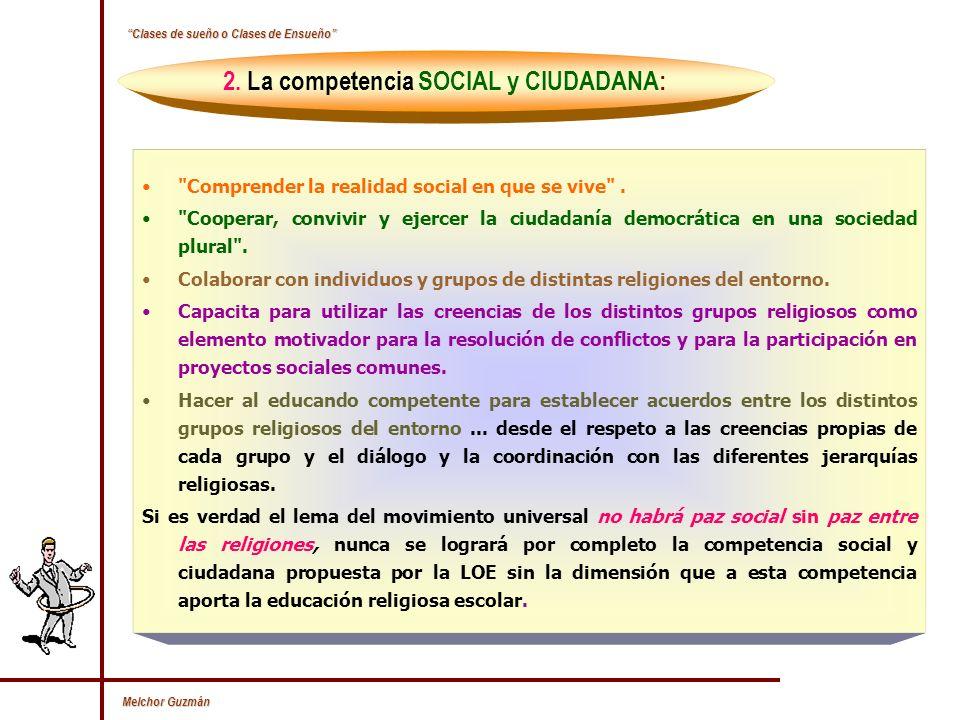 2. La competencia SOCIAL y CIUDADANA: