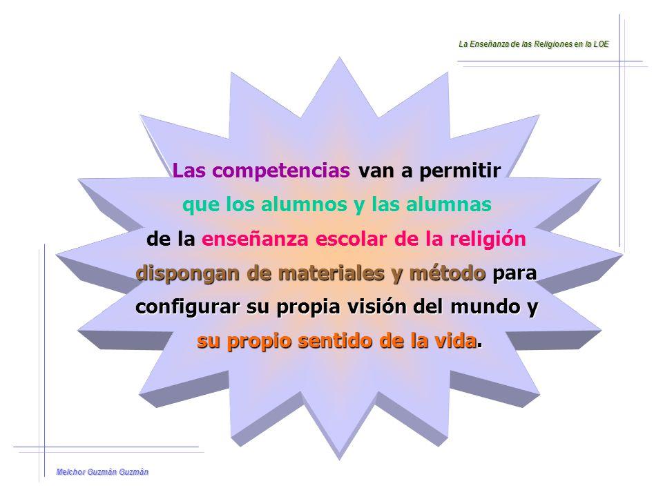 Las competencias van a permitir que los alumnos y las alumnas