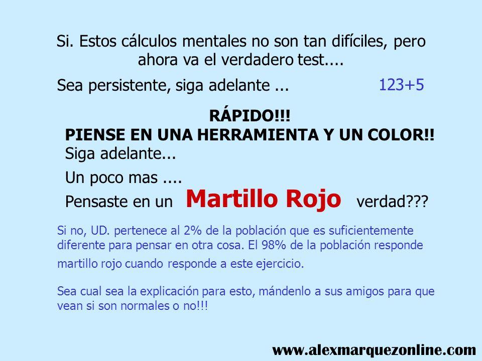 RÁPIDO!!! PIENSE EN UNA HERRAMIENTA Y UN COLOR!!