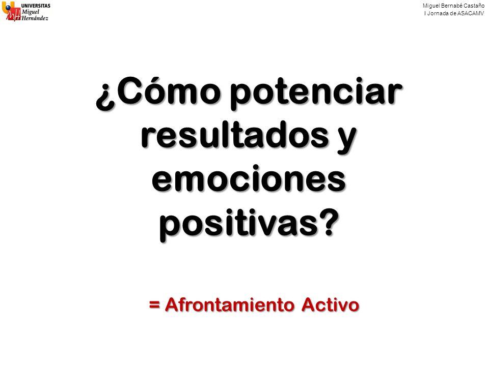 ¿Cómo potenciar resultados y emociones positivas