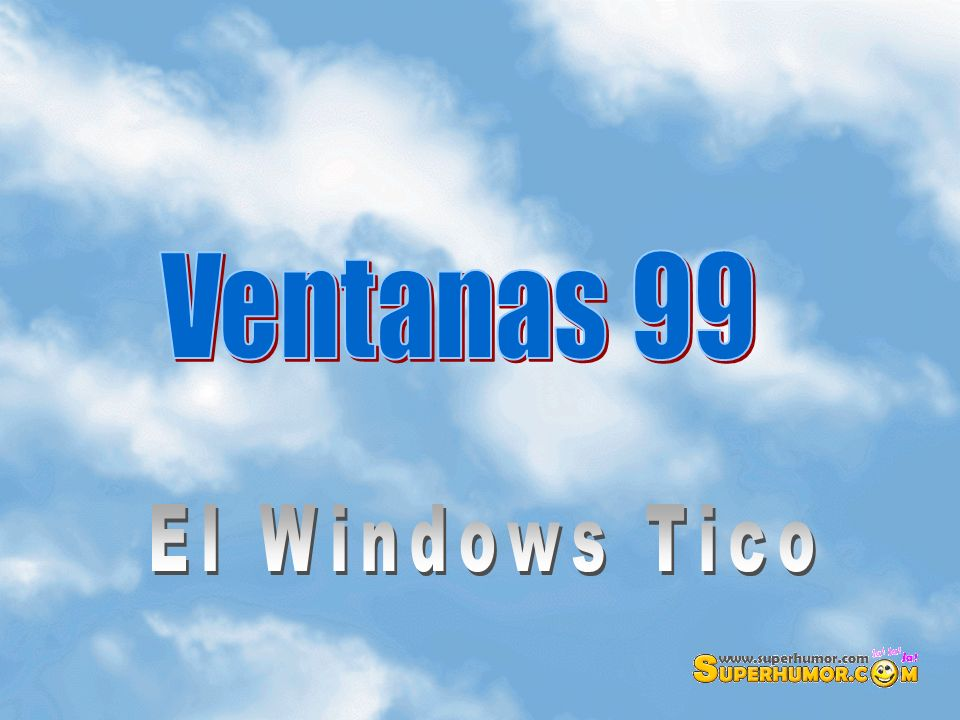 Ventanas 99 El Windows Tico