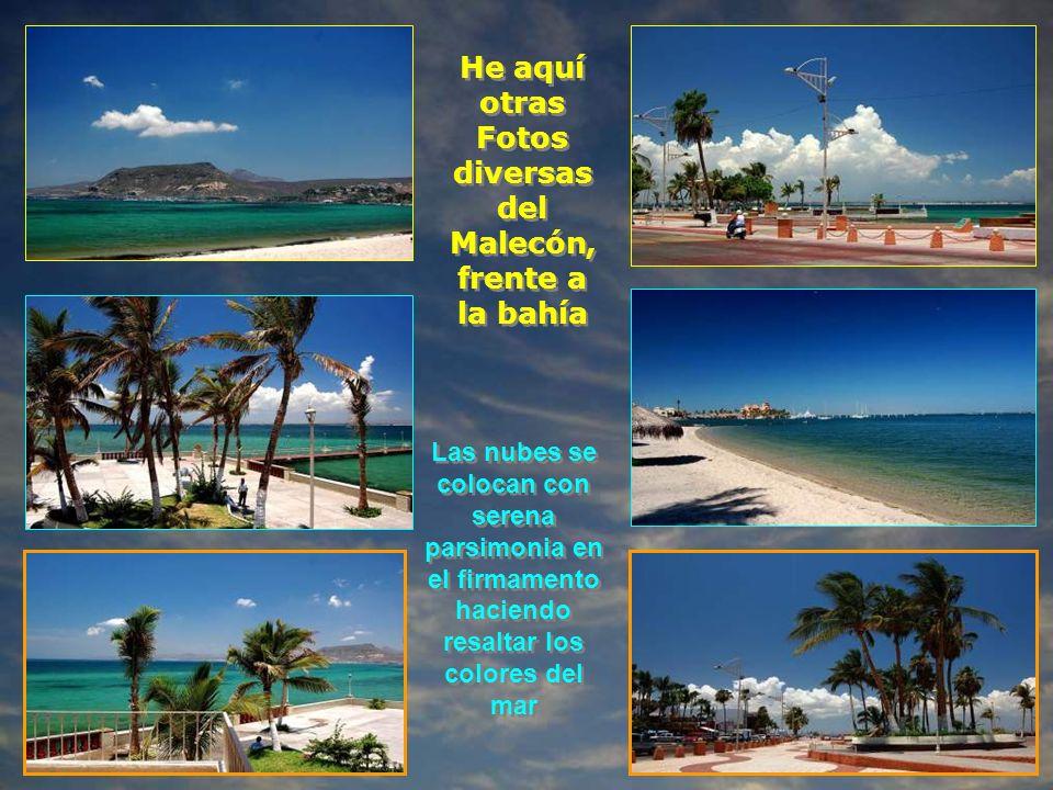 He aquí otras Fotos diversas del Malecón,frente a la bahía