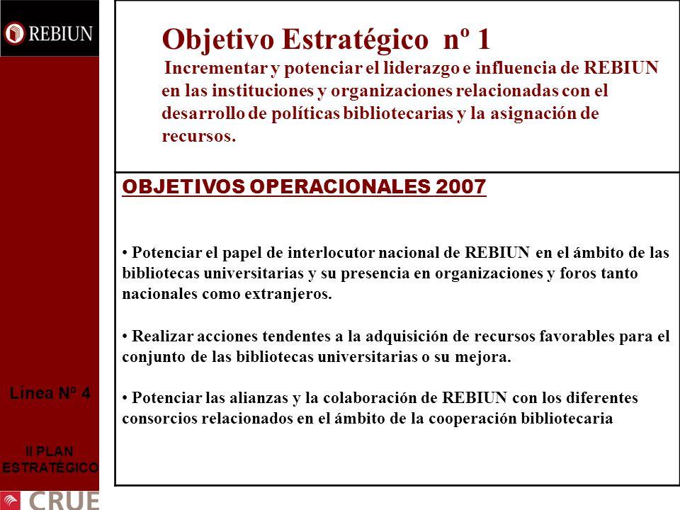 OBJETIVOS OPERACIONALES 2007