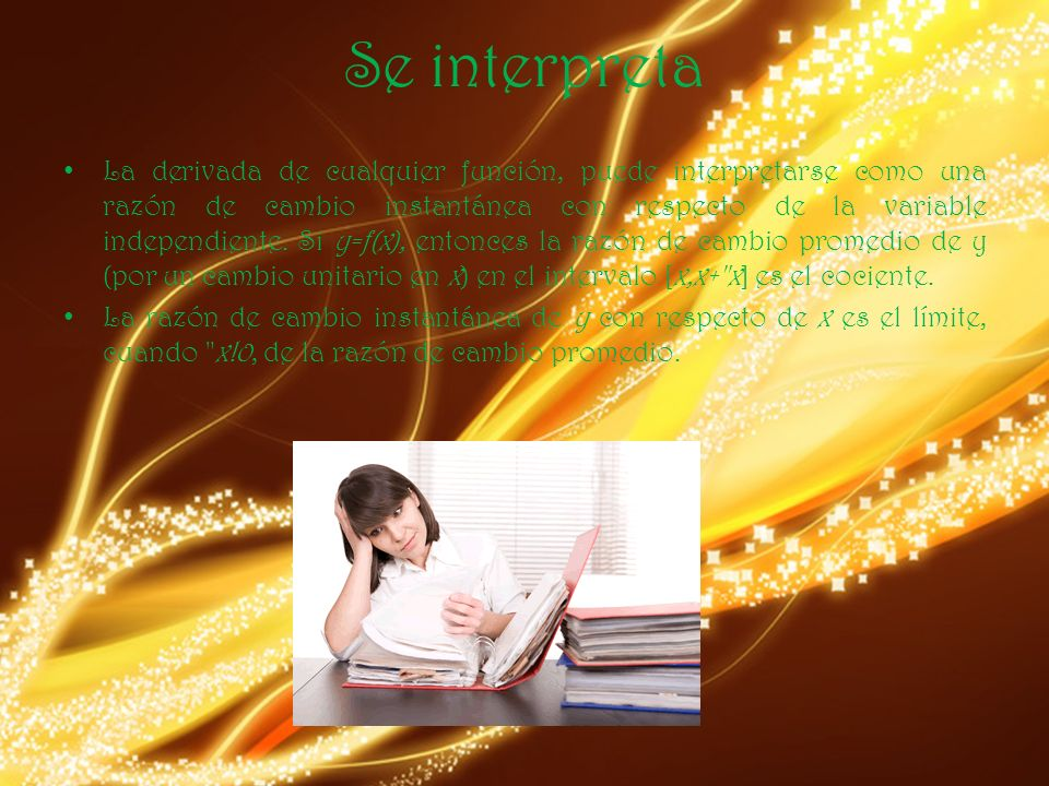 Se interpreta