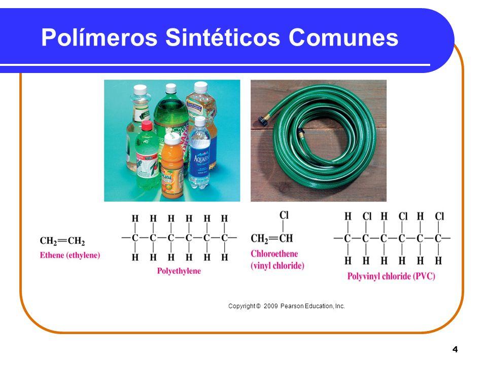 Polímeros Sintéticos Comunes