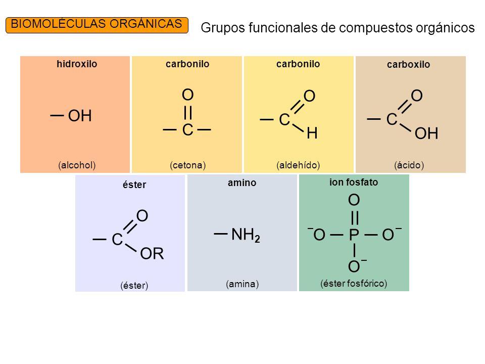 Grupos funcionales de compuestos orgánicos