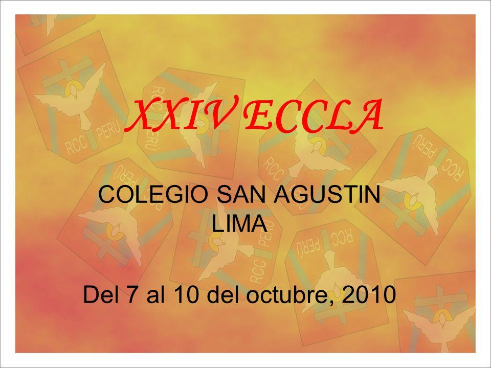 COLEGIO SAN AGUSTIN LIMA Del 7 al 10 del octubre, 2010