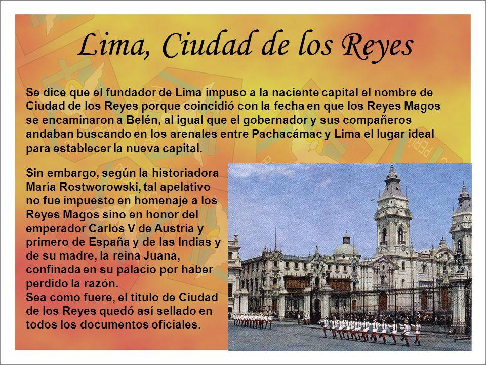 Lima, Ciudad de los Reyes