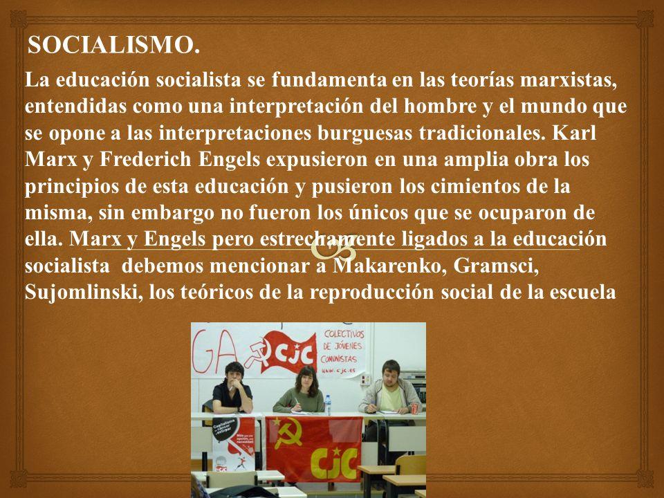 SOCIALISMO.