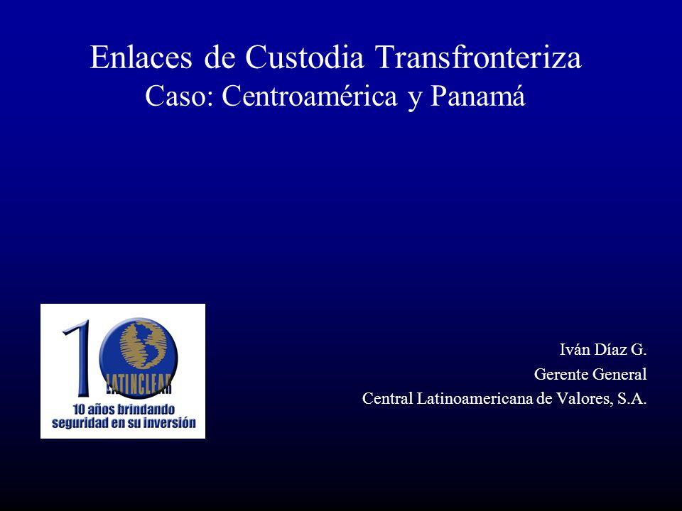 Enlaces de Custodia Transfronteriza Caso: Centroamérica y Panamá