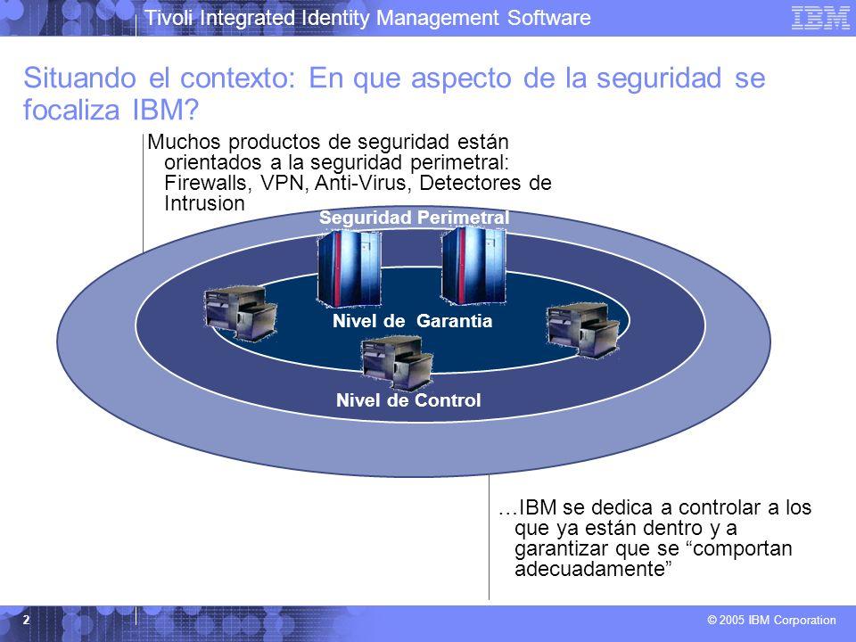 Situando el contexto: En que aspecto de la seguridad se focaliza IBM
