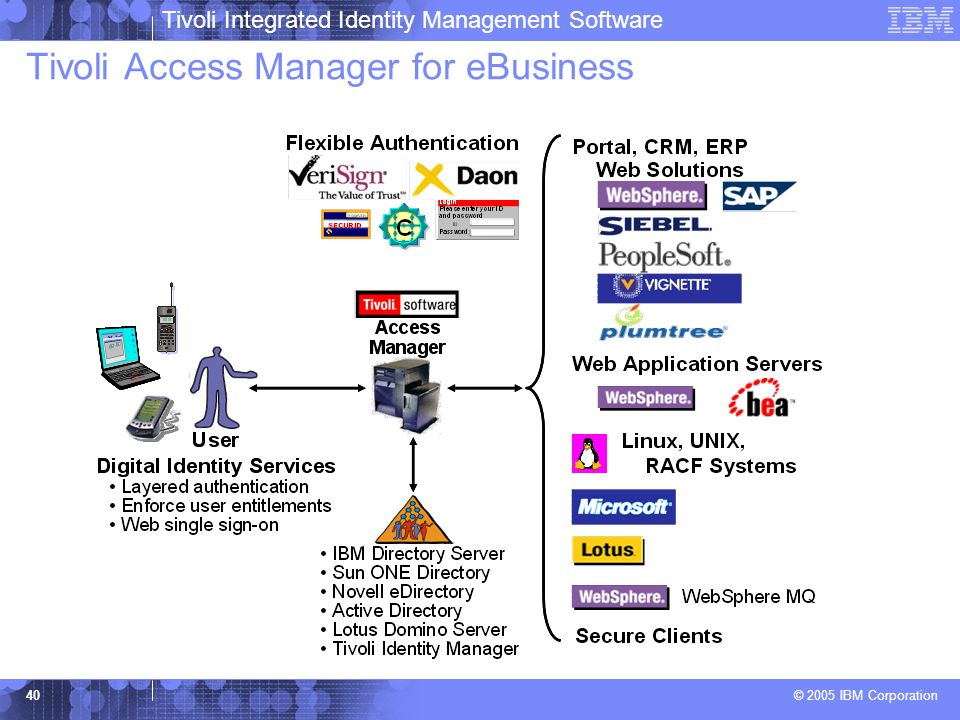 Tivoli Access Manager for eBusiness