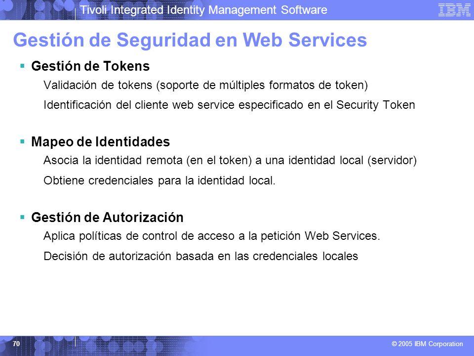 Gestión de Seguridad en Web Services