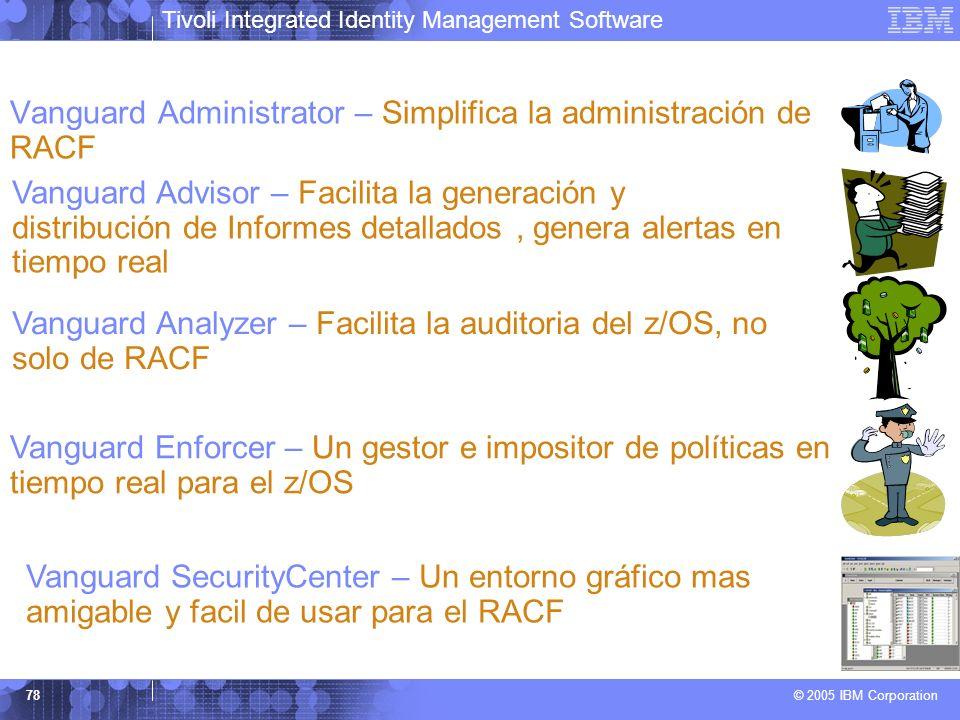 Vanguard Administrator – Simplifica la administración de RACF
