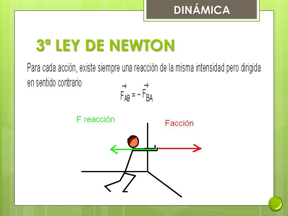 DINÁMICA 3ª LEY DE NEWTON