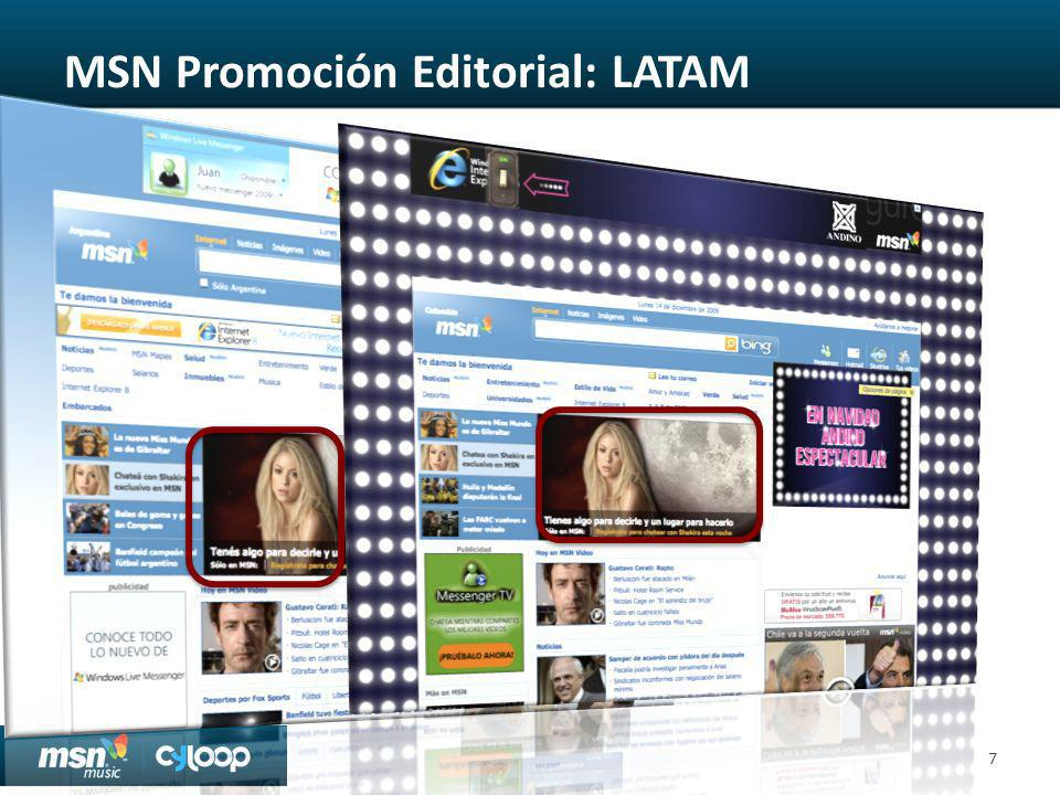 MSN Promoción Editorial: LATAM