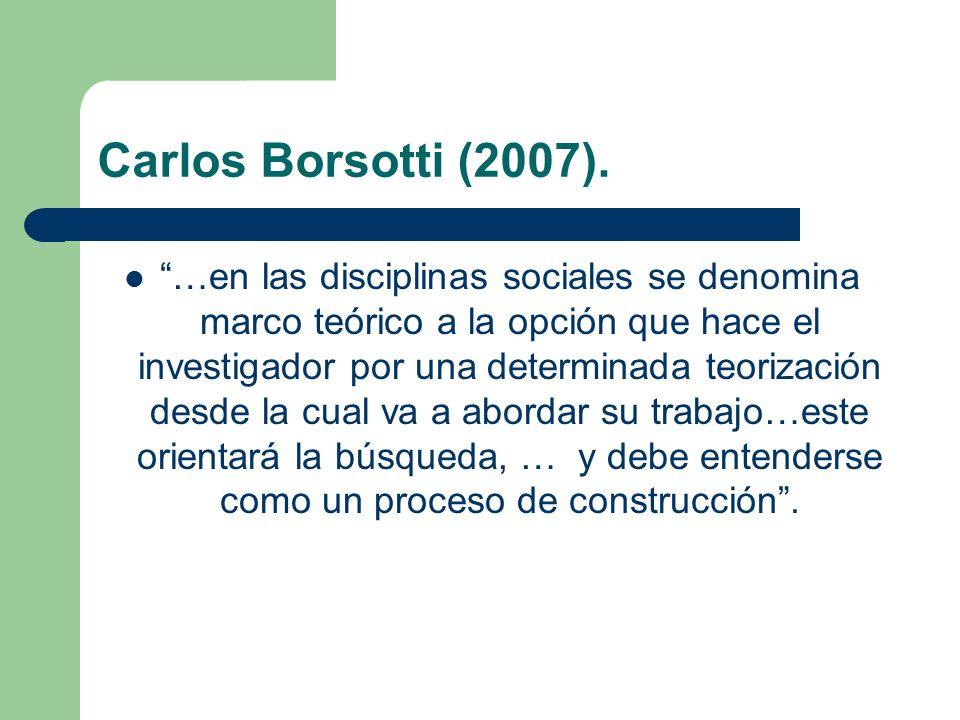 Carlos Borsotti (2007).