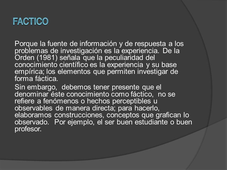 Factico