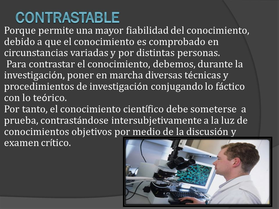Contrastable