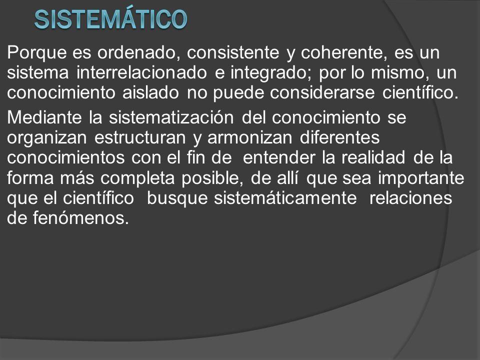 Sistemático