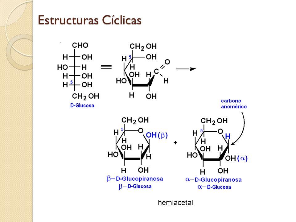 Estructuras Cíclicas hemiacetal