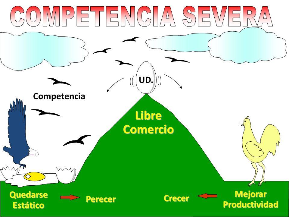 COMPETENCIA SEVERA Libre Comercio UD. Competencia Mejorar
