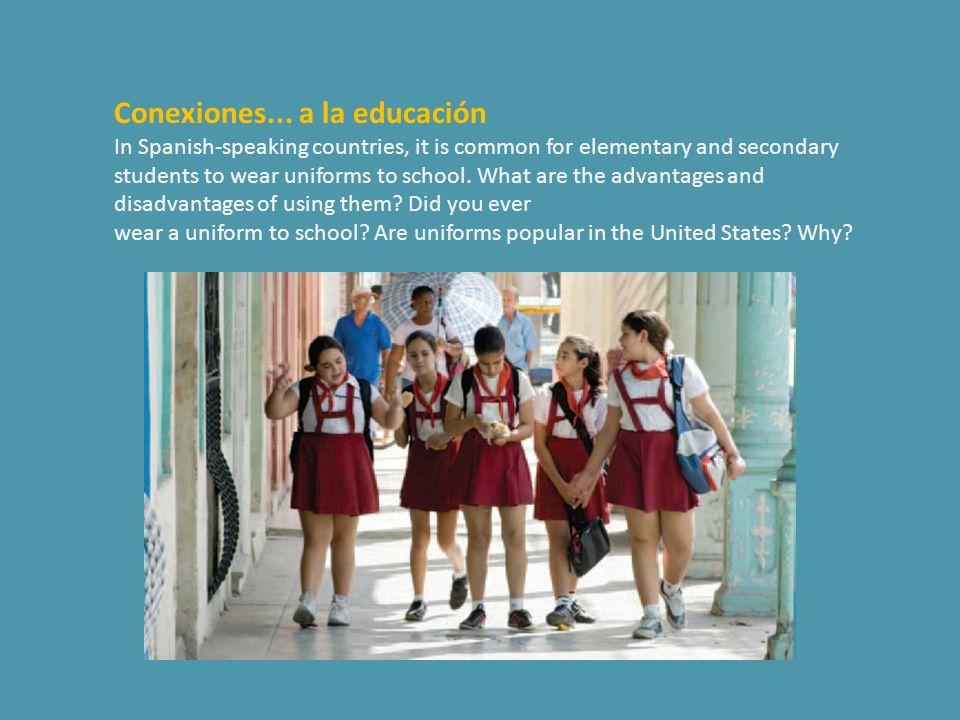 Conexiones... a la educación