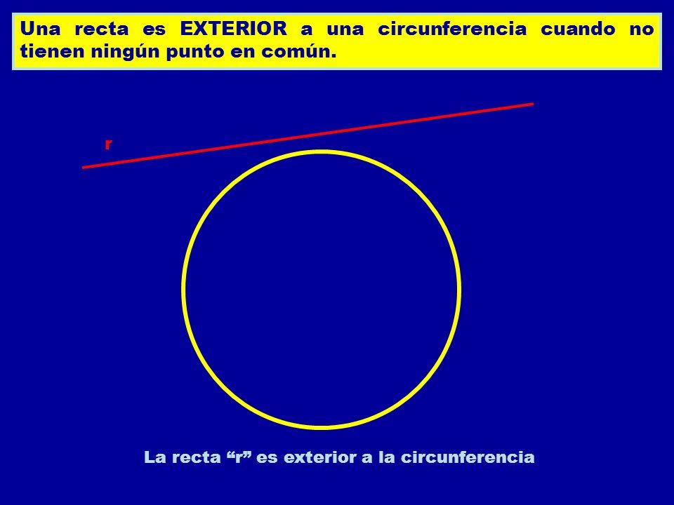 Circunferencia ppt descargar for Exterior a la circunferencia