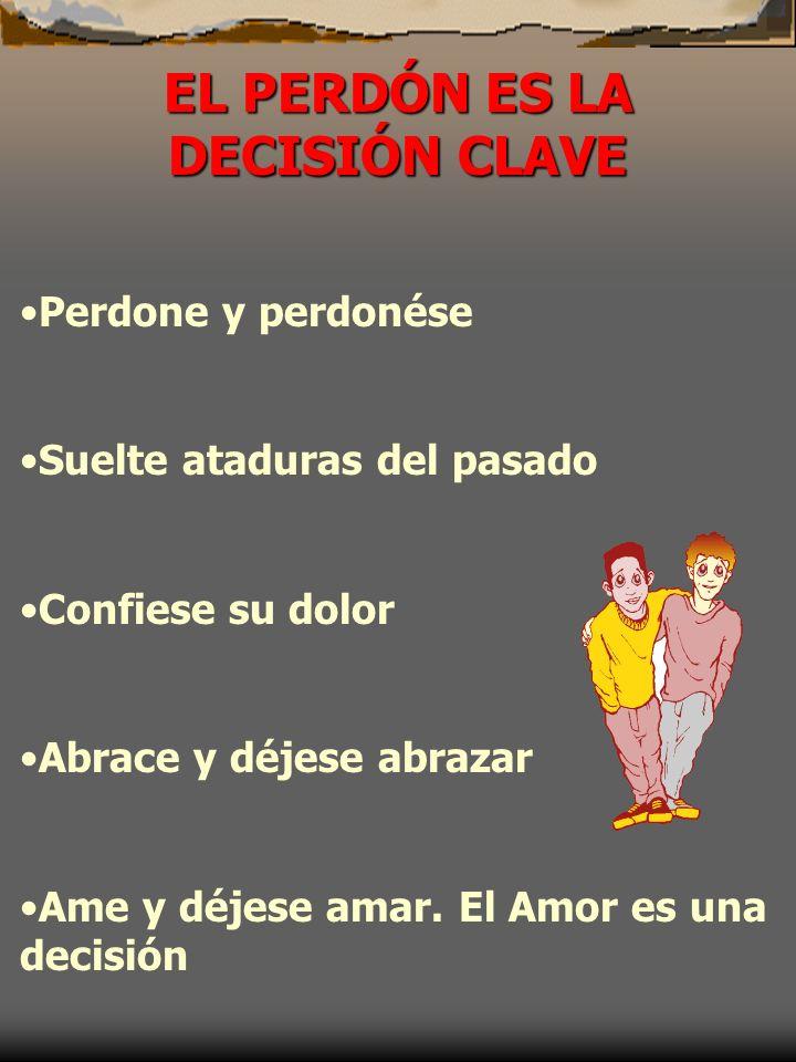 EL PERDÓN ES LA DECISIÓN CLAVE