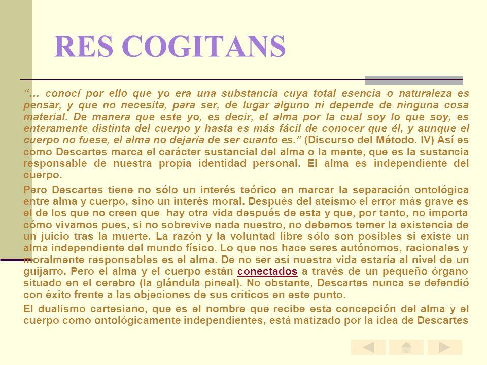 RES COGITANS