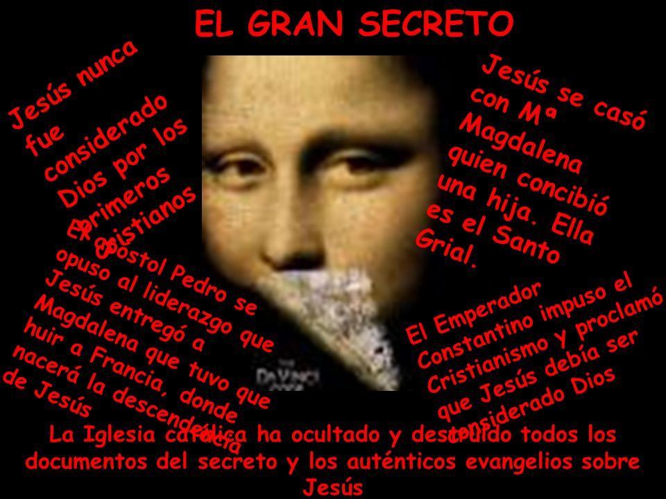 EL GRAN SECRETO Jesús nunca fue considerado Dios por los primeros cristianos.