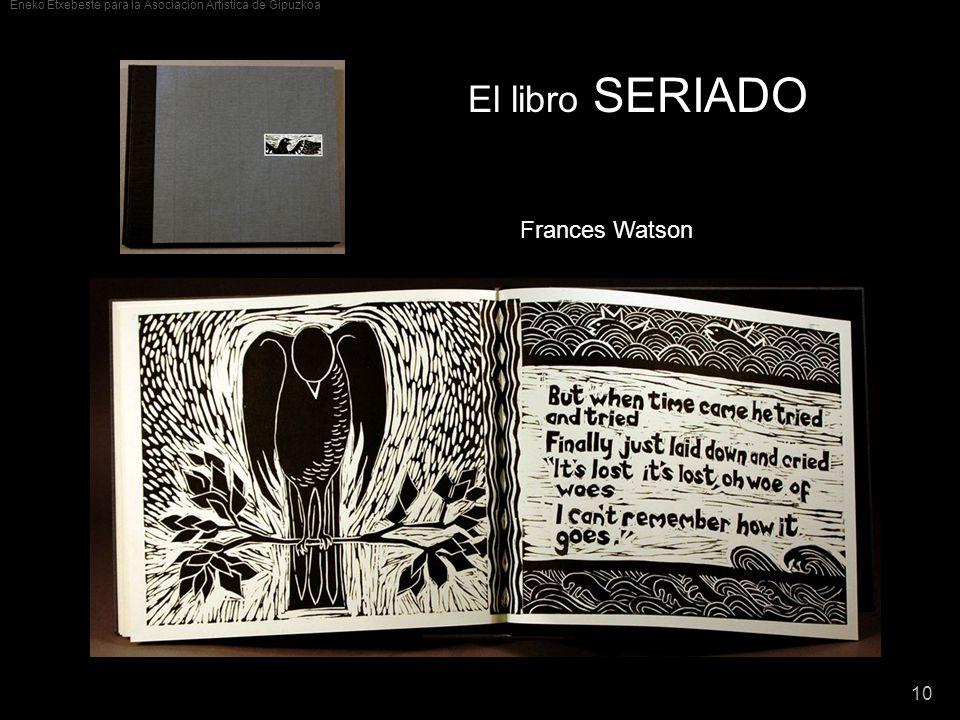 El libro SERIADO Frances Watson