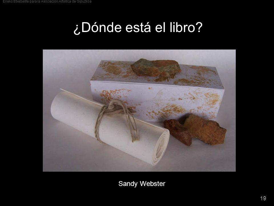 ¿Dónde está el libro Sandy Webster