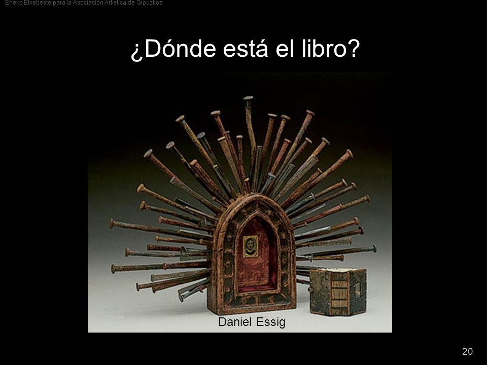 ¿Dónde está el libro Daniel Essig