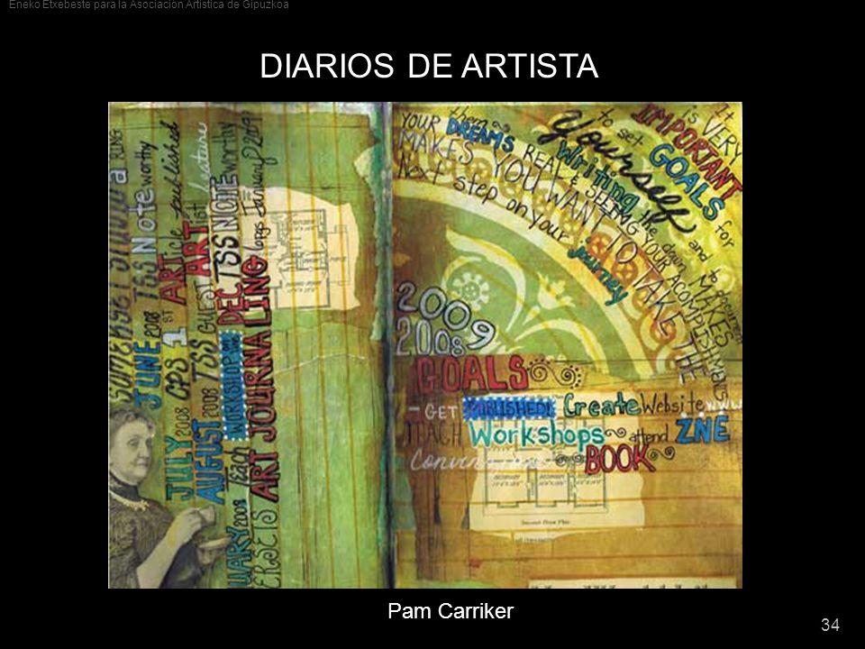 DIARIOS DE ARTISTA Pam Carriker