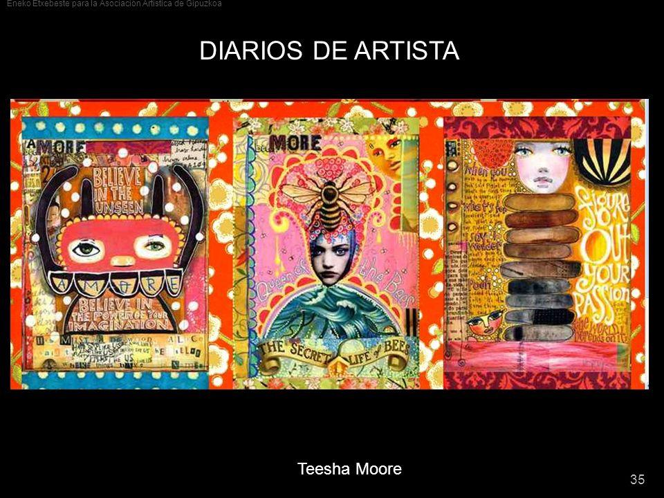 DIARIOS DE ARTISTA Teesha Moore