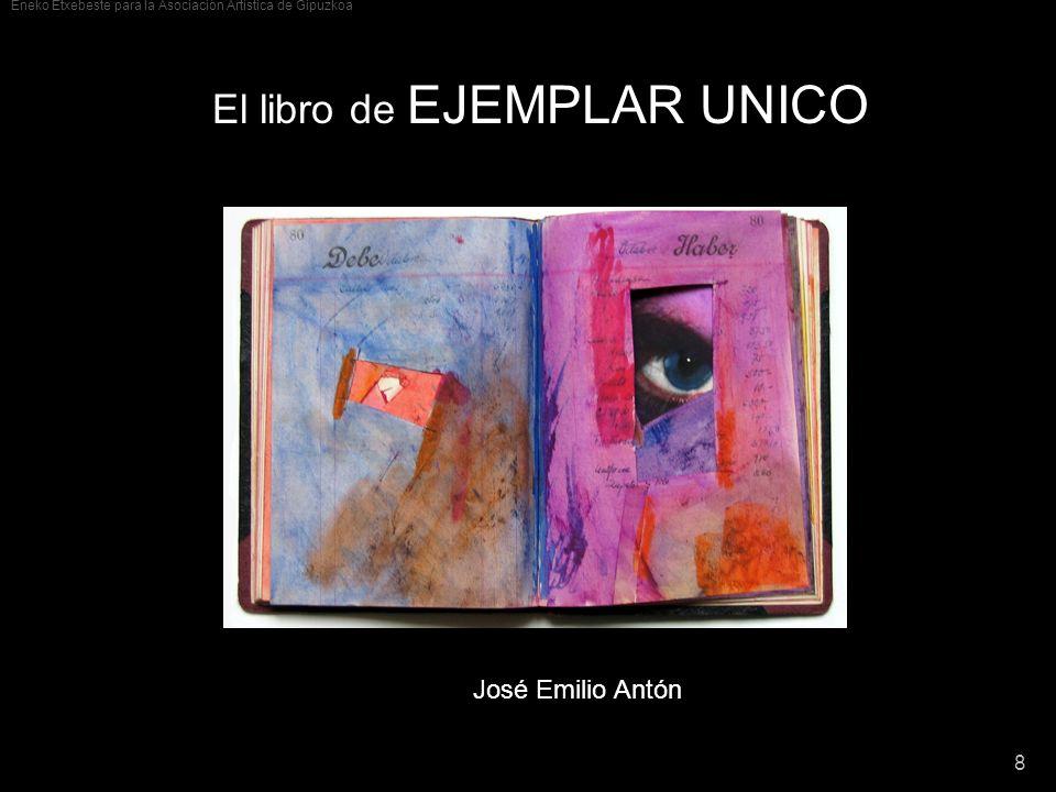 El libro de EJEMPLAR UNICO