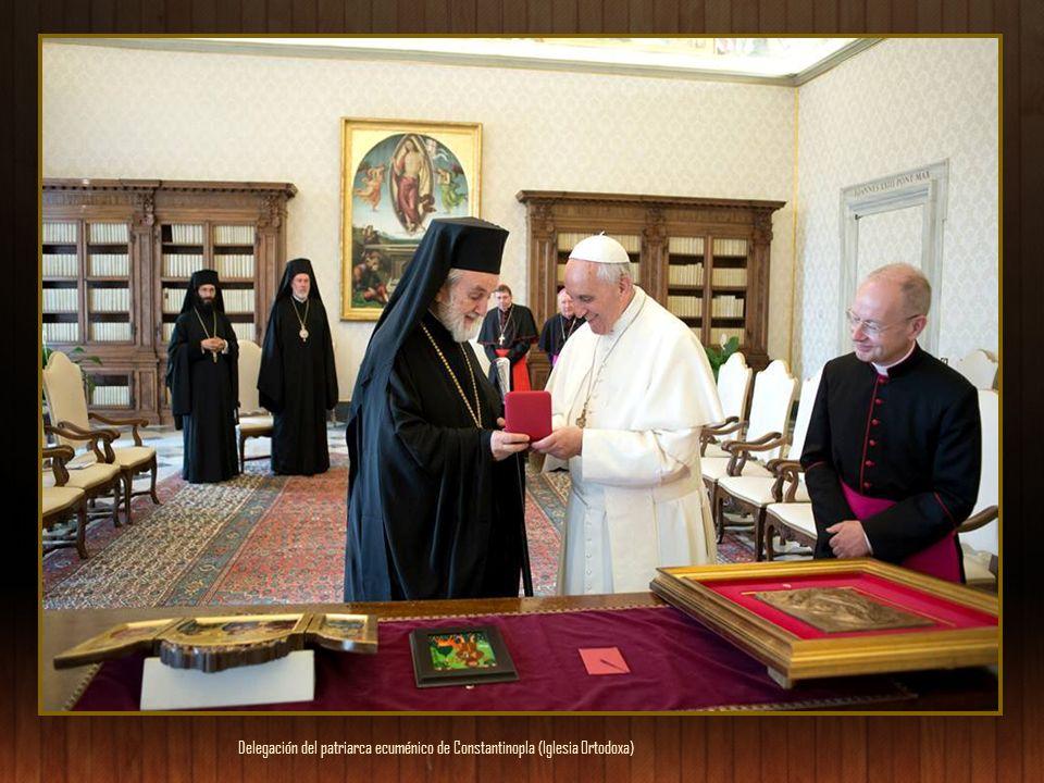 Delegación del patriarca ecuménico de Constantinopla (Iglesia Ortodoxa)