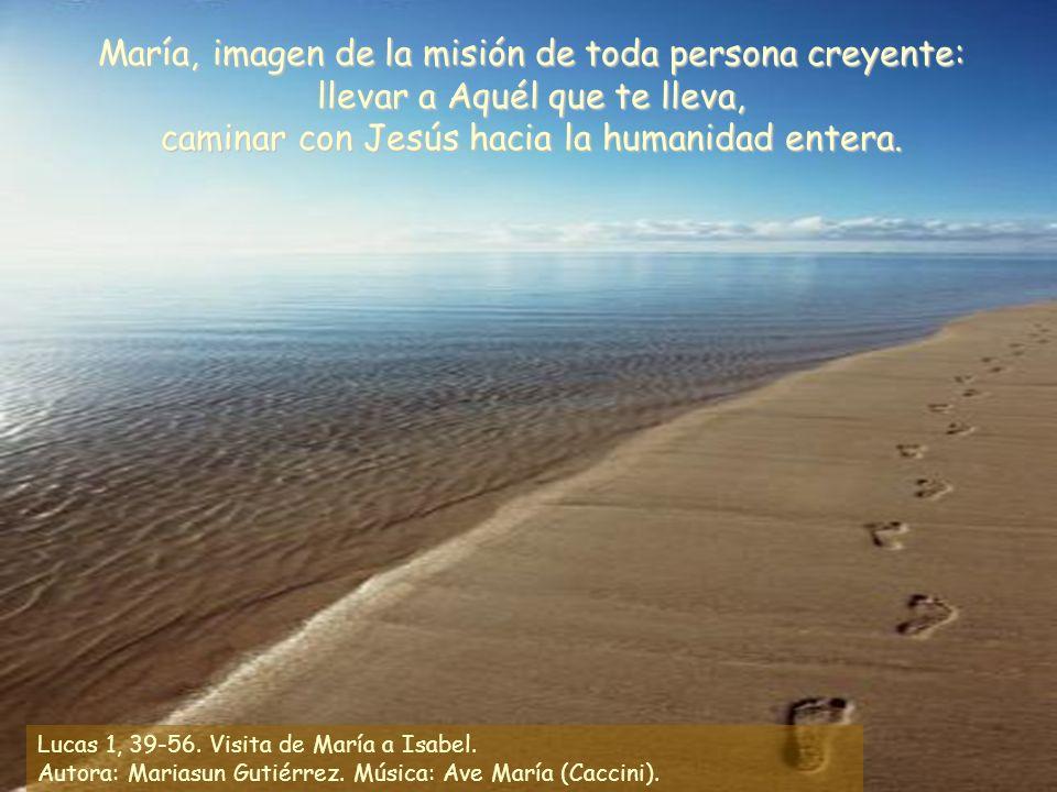 María, imagen de la misión de toda persona creyente: