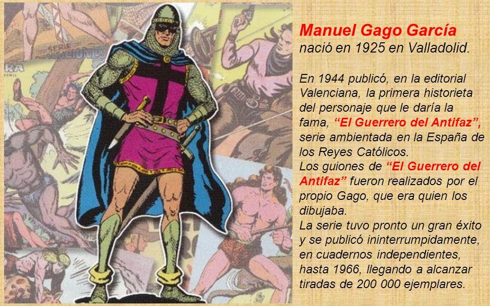 Manuel Gago García nació en 1925 en Valladolid.