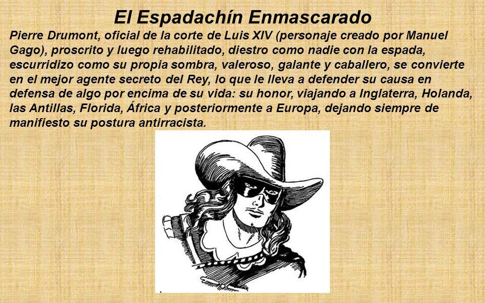 El Espadachín Enmascarado