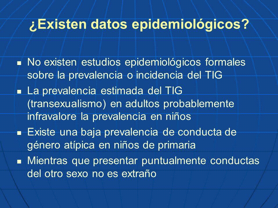 ¿Existen datos epidemiológicos