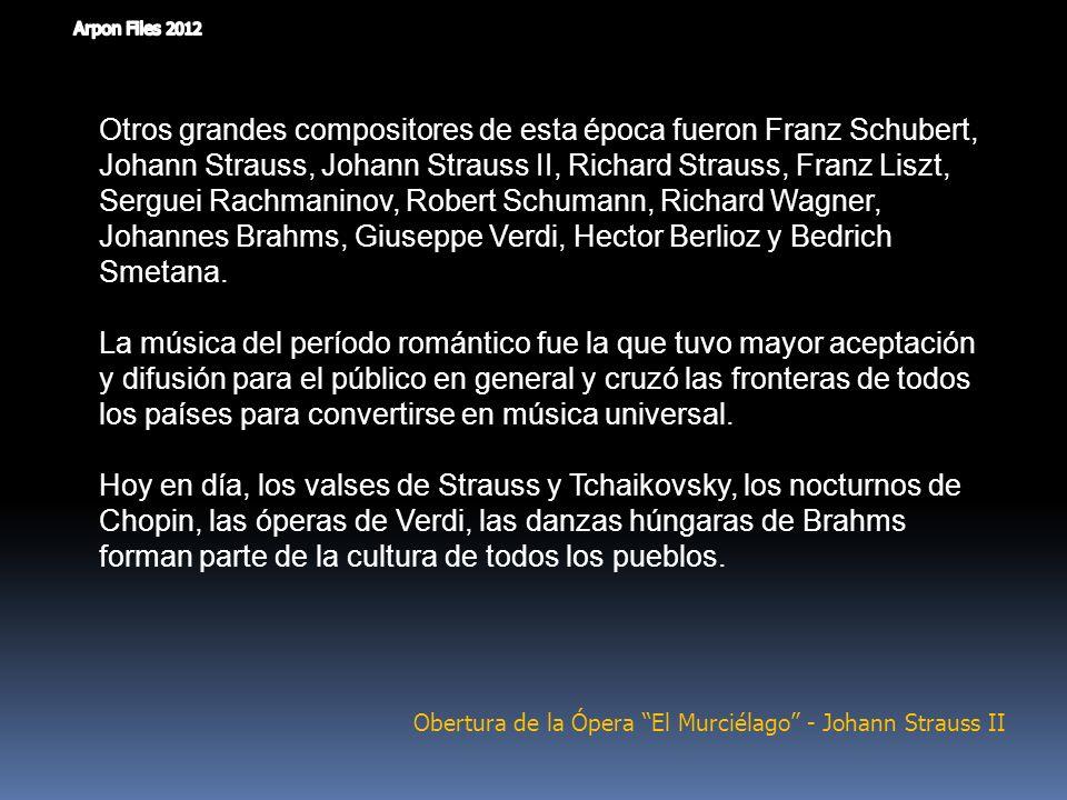 Obertura de la Ópera El Murciélago - Johann Strauss II